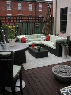 Small Condo Patios Design, Pictures, Remodel, Decor and Ideas - page 9