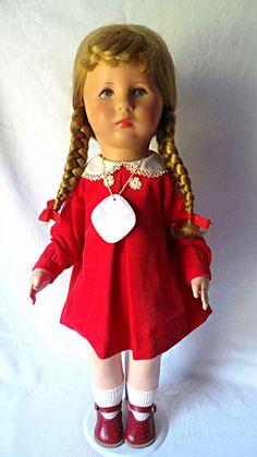 German Kathe Kruse Doll All Original