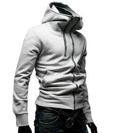 Men's Double Zipper Design Jacket