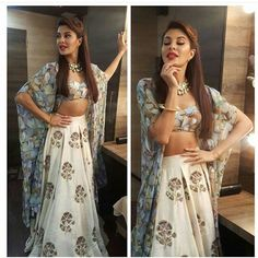 40 festive looks to steal from Bollywood celebs Jacqueline Fernandez, Indian Wedding Outfits, Indian Outfits, Indian Weddings, Indian Attire, Indian Wear, Bollywood Fashion, Bollywood Actress, Bollywood Outfits