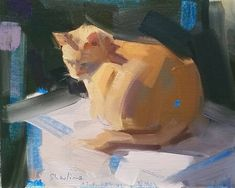 Gesso For Oil Painting Info: 7883400453 Paintings I Love, Animal Paintings, Oil Paintings, Art Inspo, Painting Inspiration, Art Sketches, Art Drawings, Art Studies, Anime Comics