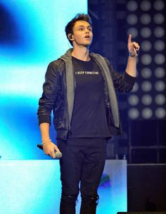 Jonah Marais of Why Don't We performs onstage at WiLD 949's FM's Jingle Ball 2017 Presented by Capital One at SAP Center on November 30 2017 in San...