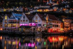Norway, Bergen, Zachariasbryggen