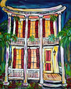 Nawlins Style Revival Painting 370