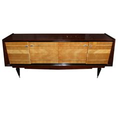 Shop credenzas and other antique and modern storage pieces from the world's best furniture dealers. Art Deco Furniture, Cool Furniture, Art Et Architecture, Muebles Art Deco, Bauhaus Art, French Art, Wood Veneer, Art Nouveau, Buffets