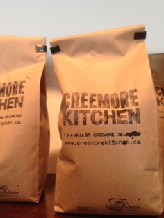 Creemore Kitchen's own Whole Bean Roast Bold but never Bitter