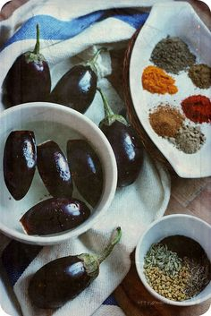 Monsoon Spice   Unveil the Magic of Spices...: Achari Baingan Recipe   Eggplants with Pickling Spices