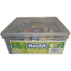 Haribo Maoam Pinball Sweets Full Tub Online Sweetshop, Bags, Tubs, Jars of Sweets oh god... Nom!