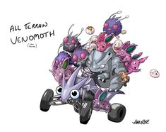 All-Terrain Venomoth (and friends) - Imgur