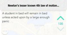 Newton's Lesser Known Law