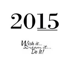 Nothin' but good vibes for 2015. Happy new year, everyone!