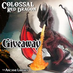 Colossal Red Dragon Mini Giveaway