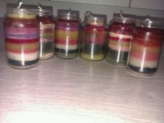Selfmade Candles zelfgemaakte kaarsen