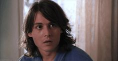 Benny and Joon Young Johnny Depp, Here's Johnny, Johnny Depp Movies, Marlon Brando, Benny And Joon, Johnny Depp Pictures, Johny Depp, Celebrity Gallery, Perfect Boy