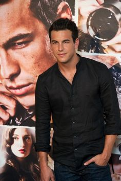 Mario Casas Button Down Shirt - Mario Casas Looks - StyleBistro