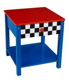 Details about Kidkraft 76041 Kids Racecar Toddler Bed Side Table Race Car End Table NEW Boy Car Room, Race Car Room, Toddler Table, Toddler Bed, Kids Bedroom, Car Bedroom, Bedroom Ideas, Boy Bedrooms, Kids Furniture