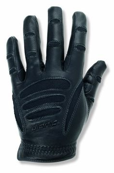 Bionic Men's Driving Gloves, Black, Large by Bionic. $35.59. Amazon.com                The men's driving gloves from Bionic offer a lightweight design and ergonomic fit for unrestricted comfort while driving. Constructed with supple cabretta leather with added padding on the palms, the driving gloves are constructed for long term durability. Designed to perform like a second skin, the gloves feature strategically placed anatomical relief pads that even out the surface of the ...
