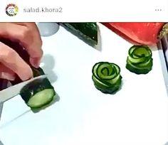 Easy Food Art, Food Art For Kids, Creative Food Art, Amazing Food Decoration, Amazing Food Art, Charcuterie Picnic, Charcuterie Recipes, Garnishing, Food Garnishes