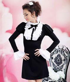 Fashion Black, All Fashion, Autumn Fashion, Womens Fashion, Kawaii Outfit, Kawaii Clothes, Formal Dresses For Women, Hani, Girly Outfits