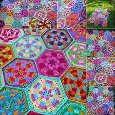 Ravelry: HexiCandy pattern by Lin Harvey