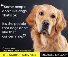 Dear Entrepreneur, Does your startup need a reason to bring a dog to work? Consider this one.