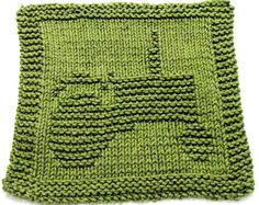 Knitting Cloth Pattern Tractor - PDF