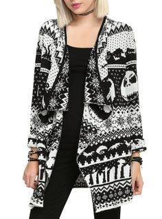 Pin for Later: The Internet Is Freaking Out Over This New Disney Halloween Collection  Fair Isle Cardigan ($54)