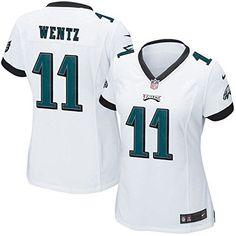 b95e836aa Carson Wentz Philadelphia Eagles Nike Black Game Jersey 2xl White