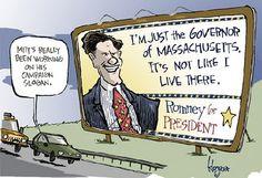 Romney in MA.