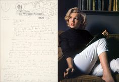 MONROE DOCTRINEA dream record by Marilyn Monroe from 1955, when she lived at the Waldorf-Astoria, in Manhattan. Photograph, right, from Time & Life Pictures/Getty Images.
