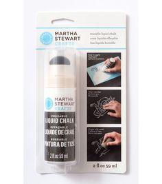 Martha Stewart Crafts ® 2oz Erasable Liquid Chalk - White