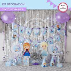 Frozen: decoración de fiesta
