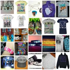 All Time Low merch