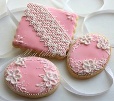 My little bakery :): Pink cookies