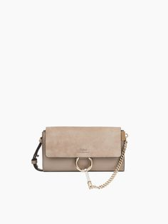 7811fb5f26 Discover Chloé Faye Wallet On Strap and shop online on CHLOE Official  Website. 3P0796H2O Chloe
