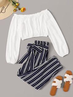 Cute Comfy Outfits, Cute Girl Outfits, Cute Summer Outfits, Pretty Outfits, Stylish Outfits, Girls Fashion Clothes, Teen Fashion Outfits, Cute Fashion, Look Fashion