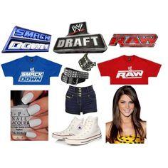 """WWE Draft"" by kelseyylove on Polyvore"