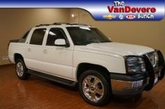 2005 Chevrolet Avalanche 1500 4WD Crew Cab LT at VanDevere Buick in Akron Ohio.