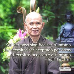 Frases de Thich Nhat Hanh. Pensamientos y Reflexiones.