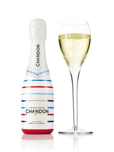 The Chandon American Summer champagne bottle www.luxuo.com/wines-spirits/chandon-american-summer-champagne-bottle.html
