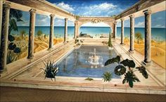Décor trompe l'oeil mural : artiste peintre spécialisé en décor trompe l'oeil