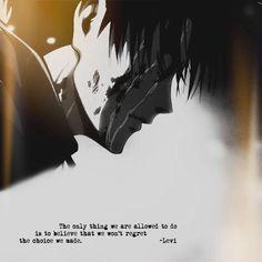 Levi Ackerman - Attack on titan Sad Anime, Anime Kawaii, Anime Guys, Manga Anime, Otaku Anime, Attack On Titan Levi, Levi X Eren, Armin, Ereri