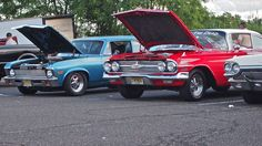 '70 Nova and '62 Chevy  Pic by Joe Danon