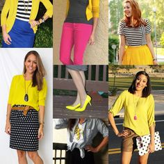 Remixing Yellow and Black :: Outfits from the Monocle theme Summer Brights