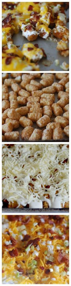 all-food-drink: Cheesy Bacon Ranch Tater Tots