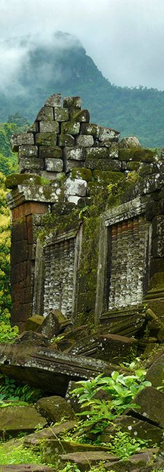 Khmer Temple, Laos By Ben Visbeek #laos #temple #khmer