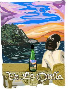 La Orilla Cava - Love the label :)