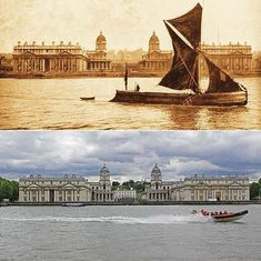 London in 1897 and Now... Oh yes! that view remind me of something