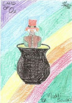 Visitor art at the National Leprechaun Museum by National Leprechaun Museum, via Flickr