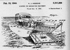 Higgins Industries D-Day landing plans #nola #history